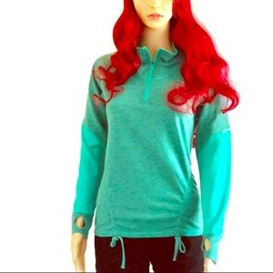 Lucy Tech, long sleeve, green athletic shirt